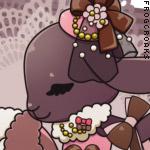 ひつじのチョコレートピンクちゃん