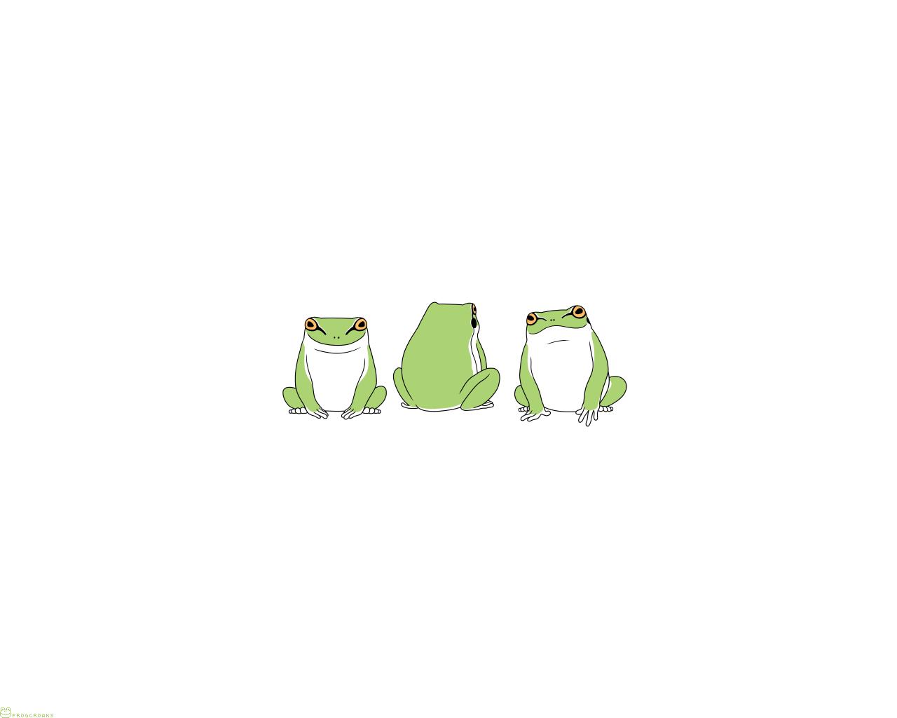 フリー壁紙 Frogcroaks Blog